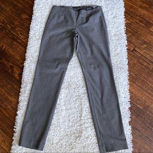 Theory Cabernet Ankle Pants Size 4 Wool SZ